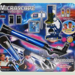 Ігровий набір Limo Toy Мікроскоп + підзорна труба CQ 031