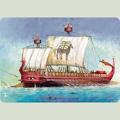 Карфагенский бойовий корабель