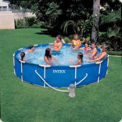 Каркасний басейн Intex 28212 Metal Frame Pool