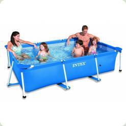 Каркасний басейн Intex 28270 Rectangular Frame 150х220х60 см