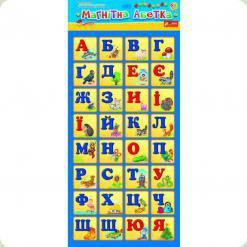 Картки на магнітах Ranok Creative Магнітна азбука (13133002У, 4202)