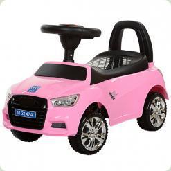 Каталка-толокар Bambi Audi M 3147A-8 Рожевий