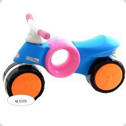 Каталка-толокар Joy Toy M 5376 Рожево-блакитний