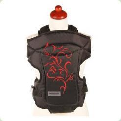 Кенгурушка Womar Zaffiro №14 (чорний c червоним)