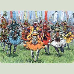 Кінні самураї XVI-XVII ст