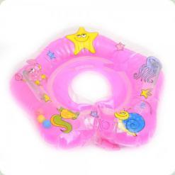 Коло для купання немовлят Bambi MS 0640 Рожевий