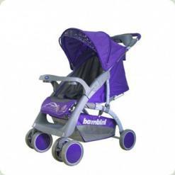 Коляска Bambini NEON ЧОХОЛ (violet butterfly)