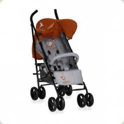 Коляска Bertoni I-MOOVE ЧОХОЛ (grey & orange lorelli)