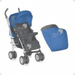 Коляска Bertoni S-100 ЧОХОЛ (blue & grey kids)