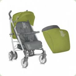 Коляска Bertoni S-200 ЧОХОЛ (green & grey belowed baby)