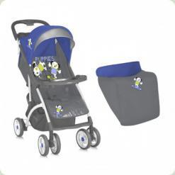 Коляска Bertoni SMARTY ЧОХОЛ (blue grey puppies)