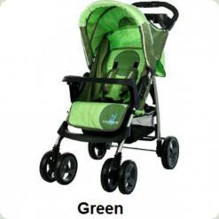 Коляска Caretero Monaco - green