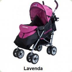 Коляска Caretero Spacer - lavenda
