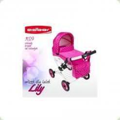 Коляска для ляльок Adbor Lily K-09