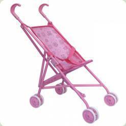 Коляска для ляльок Melogo (Metr +) 9302 Рожевий