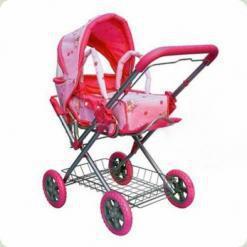 Коляска для ляльок Melogo (Metr +) 9355 Рожевий