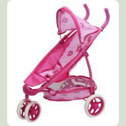 Коляска для ляльок Melogo (Metr +) 9665 Рожевий