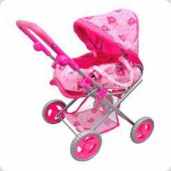 Коляска для ляльок Melogo (Metr +) M0473 Рожевий