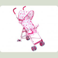 Коляска-тростина Bambi M 1702 Рожевий