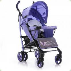 Коляска-тростина Bambini Shuttle з чохлом Violet Butterfly