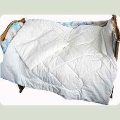 """Комплект: ковдра і подушка """"0"""", бязь вибілена"""