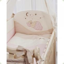 Комплект постільної білизни Putti Starry Night 7 ел. (Рожевий)