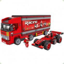 Конструктор Ausini Гонки Вантажівка з машиною 26703
