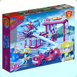 Конструктор Banbao Пожежна служба (7102)