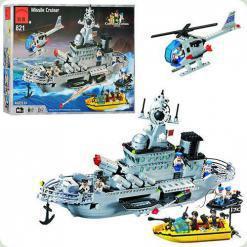 Конструктор Brick 821 Військовий корабель