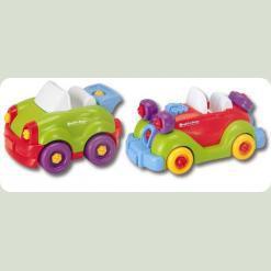 Конструктор Keenway Строй і грай: Машинки (11865)