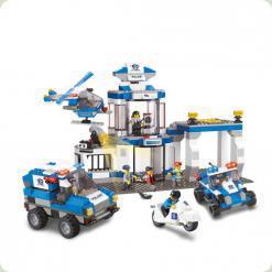 Конструктор Sluban 619991 / M 38 B 0192 Поліцейський ділянку 582 деталі
