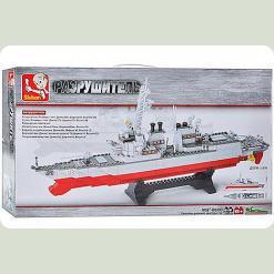 Конструктор Sluban M 38 B 0390 Авіаносець 615 деталей