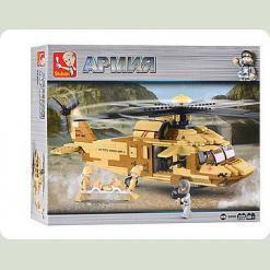 Конструктор Sluban M 38 B 0509 Армія, 439 деталей