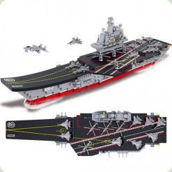 Конструктор Sluban Військово-морський флот Авіаносець (M38-B0399)
