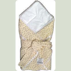 Конверт-ковдра для немовляти силікон, сатин, бязь набивна