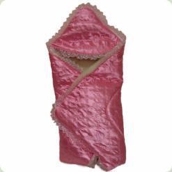 Конверт-ковдра для пологового будинку Ассоль Рожевий