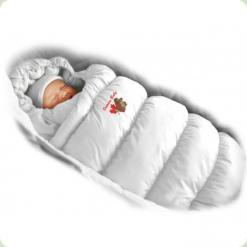 Конверт-пуховик Ontario Baby Inflated Lux (дутик 50х90) білий