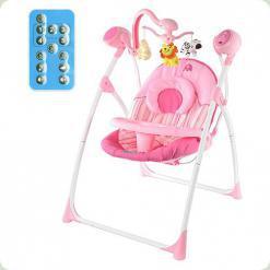 Крісло-гойдалка Bambi M 1540-1 Рожевий