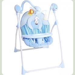 Крісло-гойдалка Bambi M 1540-2 Синій