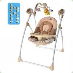 Крісло-гойдалка Bambi M 1540-3 Коричневий