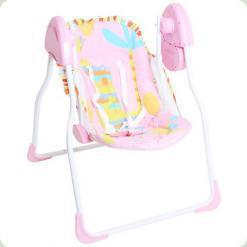 Крісло-гойдалка Bambi M 1541-1 Рожевий