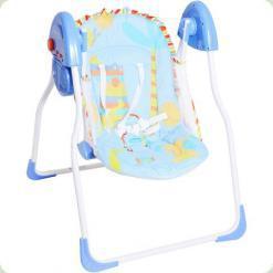 Крісло -гойдалка Bambi M 1541-2 Синій