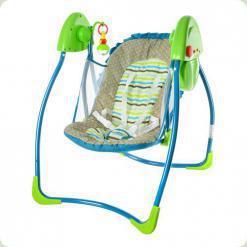 Крісло-гойдалка Bambi M 2127-1 Синьо-зелений