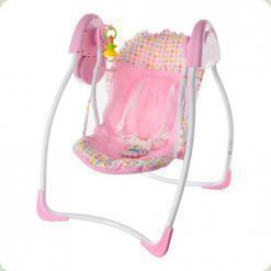 Крісло-гойдалка Bambi M 2127-2 Рожевий