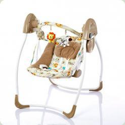 Крісло-гойдалка Bambi M 2129-2 Бежевий