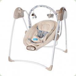 Крісло-гойдалка Bambi M 2130 Бежевий