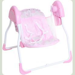 Крісло -гойдалка Bambi SW 105-1 Рожевий
