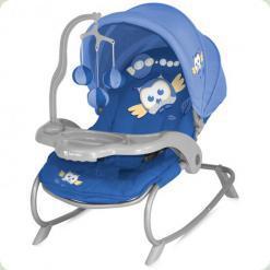 Крісло-гойдалка Bertoni Dream Time Blue Baby Owl