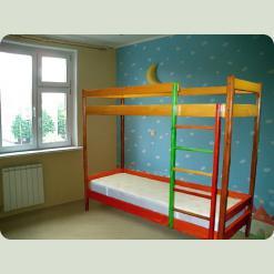"""Двох'ярусне ліжко """"Веселка"""""""