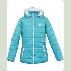 Куртка Frantolino 2202-018 з капюшоном морська хвиля